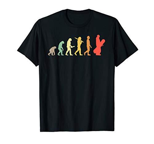 Retro Snowboard Evolution Geschenk für Snowboarder T-Shirt