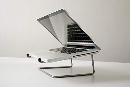 """Laptopständer """"simply"""" Edelstahl"""