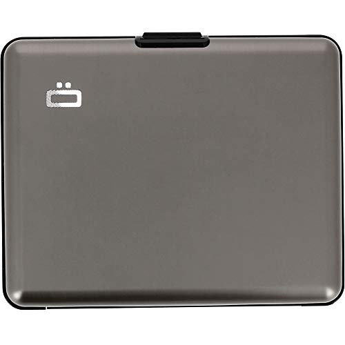 Ögon BS-Titanium Portefeuille Big Stockholm Wallet Aluminium anodisé Titanium