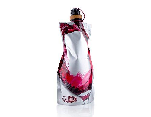 GSI Aufrollbare Weinkaraffe, Silber, 91100