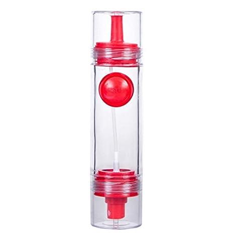 Multifunktion Ölflasche, FNKDOR Küche Barbecue Gewürz Öl Sojasauce Essig Sprühflasche Cruet Dispenser (Bio-saison Salz)