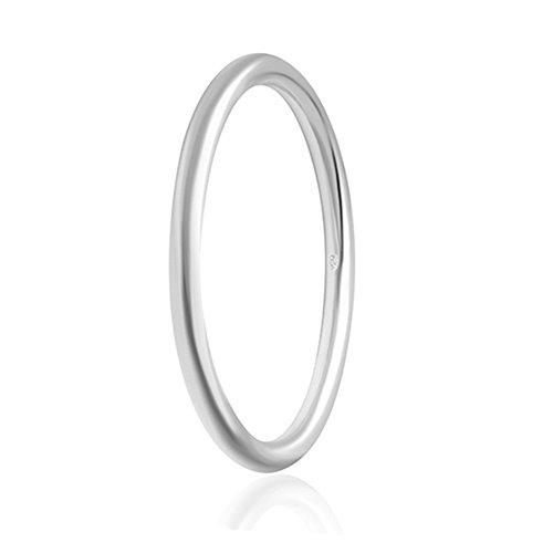 HMILYDYK - Bracciale a fascia in argento Sterling 925