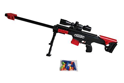 Arma Giocattolo Zombie Double strike, Pistola Giocattolo ,Caricamento rapido dei dardi, Miglior Regalo