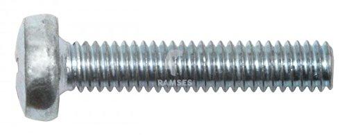 Preisvergleich Produktbild KIESUNDCO Linsenkopfschraube DIN 7985 M4 x 30 Stahl verzinkt PH2 100 Stück