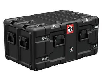 Hardigg Case (Deployable Systems BB0070 PELICAN HARDIGG 7U BLACK BOX RACK CASE - BLACK, AIRTIGHT, EQUIP. WEIGHT UNDER 10 by Deployable Systems)
