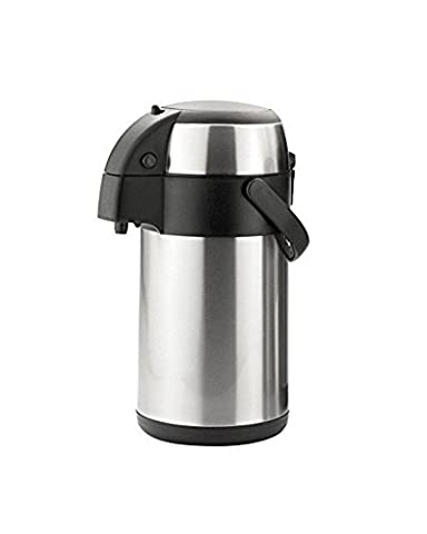 Stainless steel 1.9 ltr airpot tea coffee flask