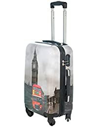 Maleta cabina 50 y 55 cm 4 ruedas trolley cascara dura adecuadas para vuelos de bajo coste art bus