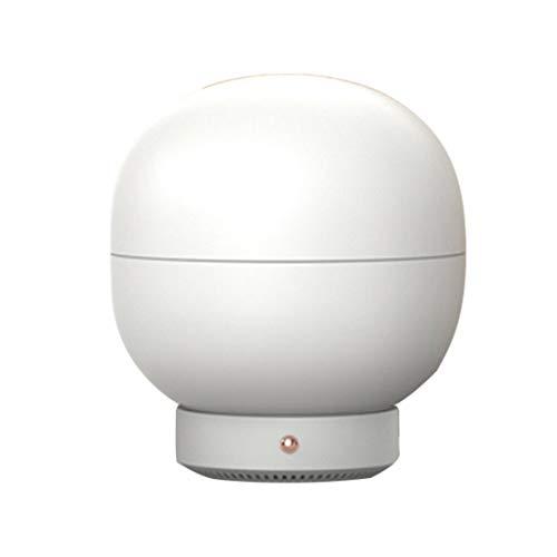 LouiseEvel215 Máquina de aromaterapia de luz cálida Humidificador de Aire Difusor de...