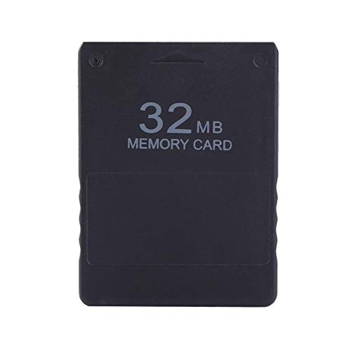 Tosuny High Speed Game Speicherkarte für Sony Playstation 2 PS2 Spiele Zubehör, 8M / 32M / 64M / 128M / 256M Externe Speicherkarte, Keine Boot-CD erforderlich, schwarz Das Boot Spiel