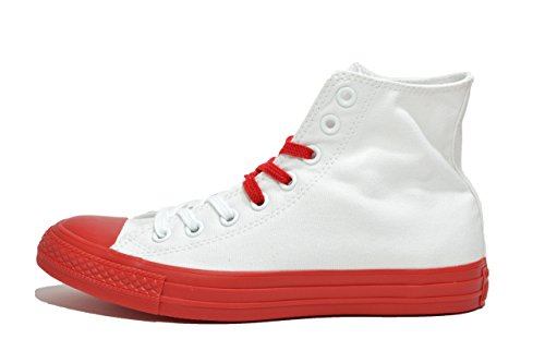 aadeefc0ce23 ... Blanco Converse - 156765c Ct As Hi Color De La Lona Goma