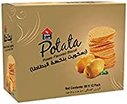 PRAN Bisk Club Potata Biscuits Perfect Cookies For Breakfast - 80gm (Pack of 12)