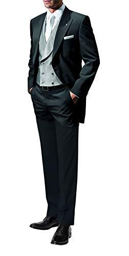 Suit Me Hombres de 2 Piezas Colas Smoking de la Boda del Juego de los Juegos de Trajes de Etiqueta Chaquetas Pantalones Negro