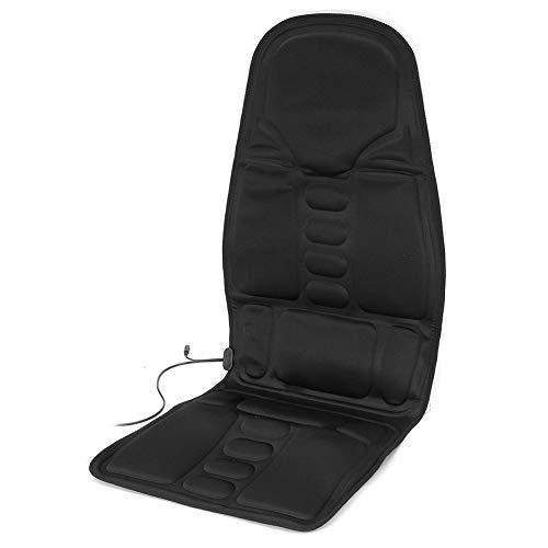 Eine Vielzahl Von Massagetechniken Einfache Tragbare Zu Hause Ganzkörper-Zervixmassagegerät Auto Massagekissen Kissen,Schwarz