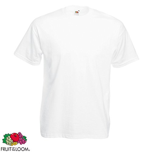 5/10er Fruit of the Loom Herren Valueweight T-Shirt Kurzarm Rundhals Gr. 3XL-5XL 10x Mehrfarbig