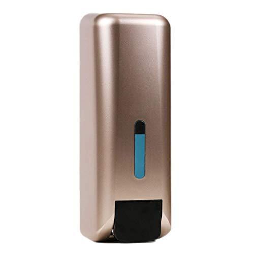 XHCP Leicht zugänglicher Schaumseifenspender mit großer Kapazität für die Wandmontage Frei stanzende Händedesinfektionsmittelflasche Hotelbadezimmer Pressen Duschgelbox Beseitigen Sie Abfälle (FA