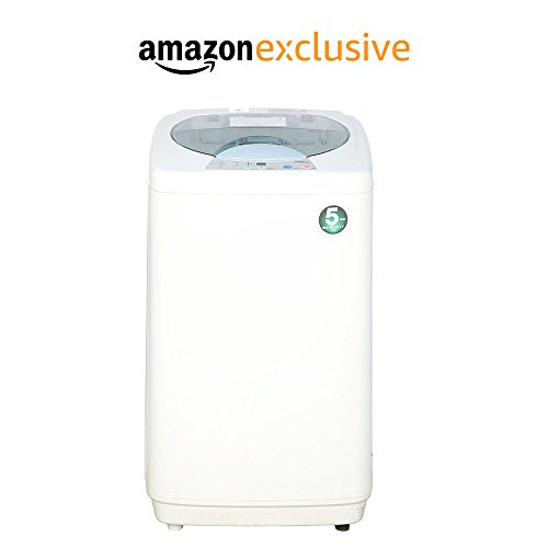 Haier 5.8 kg Fully-Automatic Top Loading Washing Machine (HWM58-020, White)
