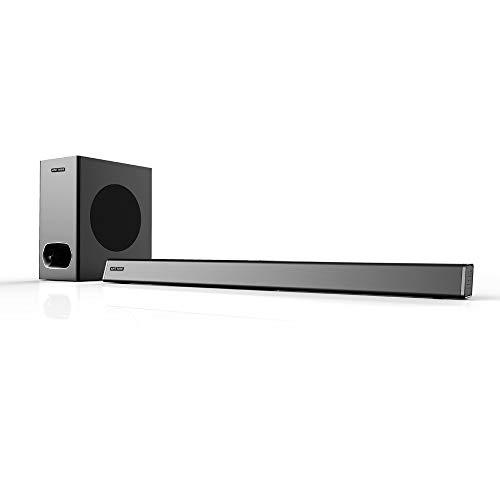 Ant Audio Treble X -SB560 Wireless Bluetooth Soundbar 120W 2.1 Speaker with Subwoofer (Black)