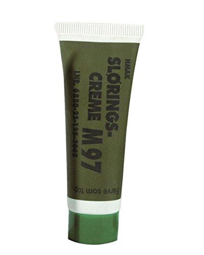 Mil-Tec Tarnschminkstift 30 gr Tube Tarnung Tarnschminke Tarnfarbe BW Schminke Waldtarn verschiedene Farben (Grün)