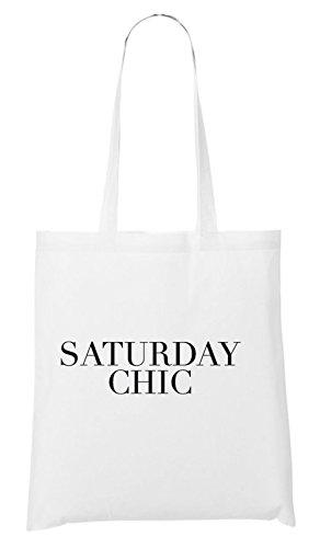 Saturday Chic Sac Blanc
