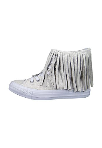 Broches Converse Sting Ray Fringe Cuir 553332c Franzen Blanc Blanc Blanc Blanc Blanc