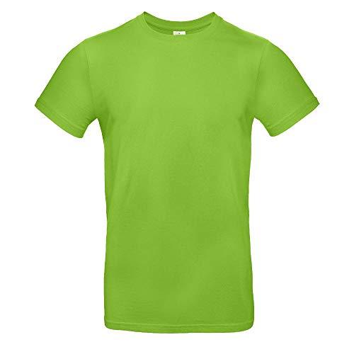 B&C - Single Jersey Herren T-Shirt #E190 / Orchid Green, XXL -