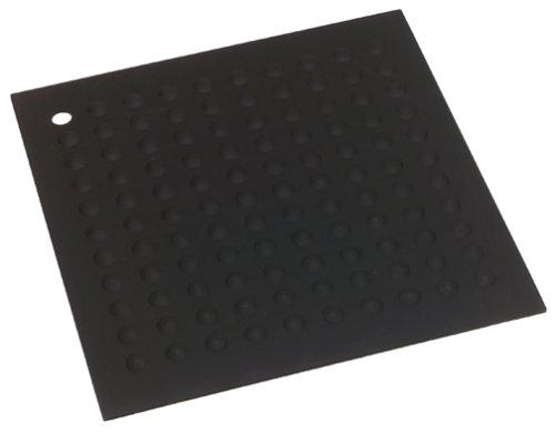 Lamson & Goodnow HotSpot Trivet - Silicone - 11½ × 11½ - Black