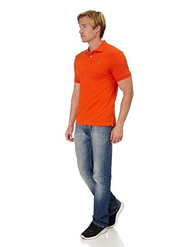 Nike Mens rot Plain Polo-Shirt Melon Crush