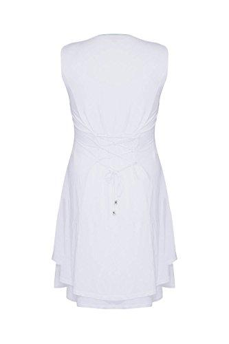 Blee Klum ROFIL - Robe - Grande Taille - Imprimée - Sans Manches - Femme Anis