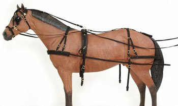 Tough 1 Deluxe Nylon Driving Harness (Miniature Racing Horse)