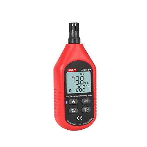 Ben-gi Uni-T UT333BT Thermometer Hygrometer Bluetooth Digital LCD Mini Temperatur- und Feuchtigkeitsmessgerät Feuchtemessgerät Sensor Thermometer -