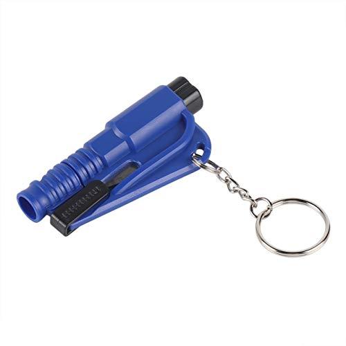 Mini Martello di Sicurezza Taglia Cintura Emergenza Salvataggio Chiavi Giallo