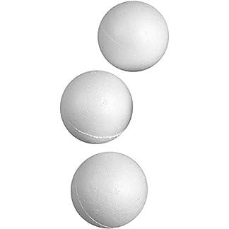 Bola, D: 5 cm, poliestireno, 50 piezas