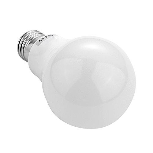 House full of romance E26 / E27 A19 LED Glühbirne Standard Basis 7W 5730 SMD energiesparendes Tageslicht kaltweiß/warmweiß 6500k 3000k AC/DC 12-24V Einfach zu verwenden (Größe : Kaltes Weiß) - E26 Standard Schraube Basis