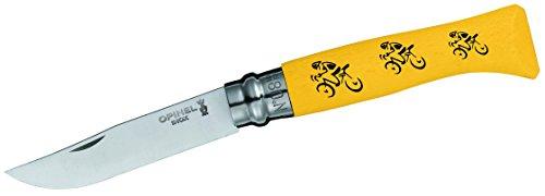 Opinel Messer, Stahl Sandvik 12C27, Tour De France Gelbes Trikot, One Size