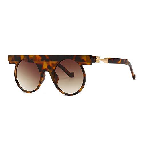 SJZC A10 Herren Sonnenbrille Polarized Light Metallrahmen Ultraleichte Mode Herren und Damen Unbreakable Rahmen Wandern, Outdoor, Fahren, Angeln, Golf,Brown