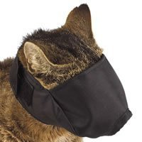 Cat Muzzle - SMALL fits cats under 6 lbs. by Pet Supply city