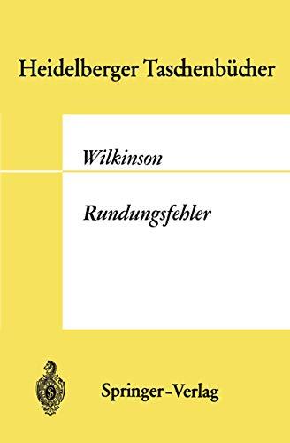 Rundungsfehler (Heidelberger Taschenbücher, Band 44)