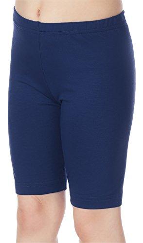 Merry Style Mädchen Kurz Leggings MS10-132 (Marineblau, 134)