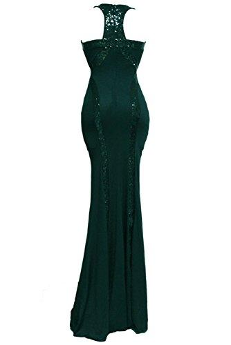 COSIVIA Damen Sexy Kleid One size Green (size (US 8-10)M)