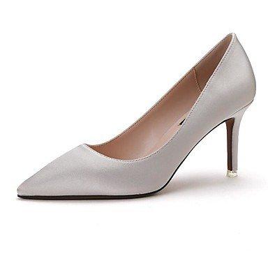 Zormey Les Talons Des Femmes Printemps Été Automne Chaussures Club Bureau Tissu Confort &Amp; Partie De Carrière &Amp; Tenue De Soirée À Talon Aiguille US4-4.5 / EU34 / UK2-2.5 / CN33