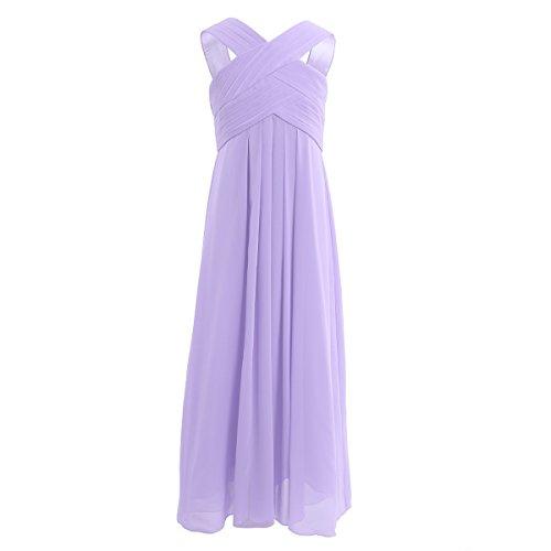 Freebily schönes Kleid Mädchen festlich lang Partykleid Abendkleid Hochzeit Blumenmädchen Kleider...