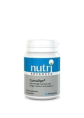 Highly Absorbable Curcumin - CurcuDyn 60 Tabs - Nutri Advanced