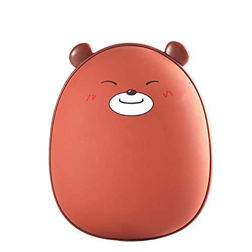 Diuspeed Handwärmer, externer Akku, USB, tragbar, mit Hase in Form von Bären, USB wärmt Ours Chaud Brun