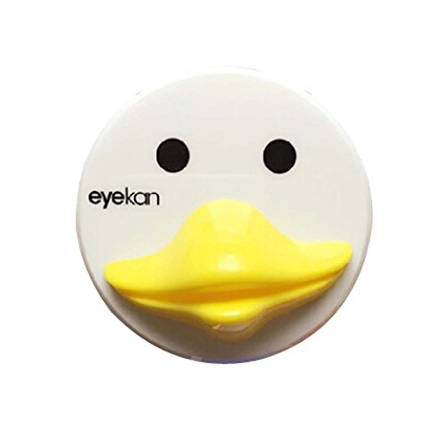 yellow-duck-style-creative-contact-lenses-cases-plastic-lenses-holder-7x7x2cm