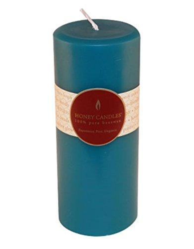 Honig Kerzen Kerze, Gletscher Blaugrün -