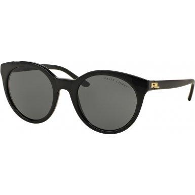 Ralph Lauren RL8138, Occhiali da Sole Unisex-Adulto, Nero (Black 500187), Taglia Unica (Taglia Produttore: One Size)