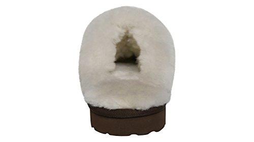 Pelle Slpr Pecora Di Di Fernie Donne Chocolat Pantofola qUUWRzgEcS