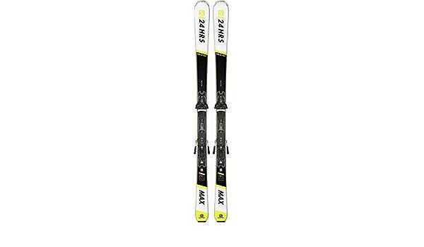 Salomon E 24 HOURS MAX + Z12 GW All Mountain Ski schwarz 154
