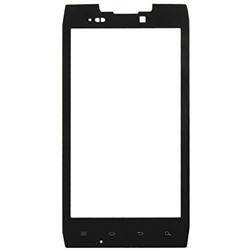 BAISHILONG Flexkabel Frontscheiben-Außenglaslinse für Motorola Droid RAZR / XT912 / XT910 (Schwarz) Ersatzteile (Farbe : Black)