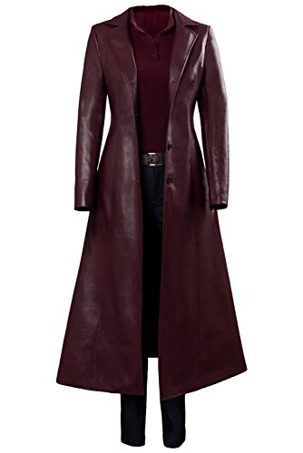 MingoTor X-Men: Dark Phoenix Jean Grey Trench Coat Cosplay Kostüm Damen L